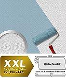 Struktur Tapete EDEM 390-60 Streichbare Vliestapete dekorative Struktur-Tapete maler weiß | 26,50 qm