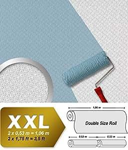 Papier à peindre non-tissé mur et plafond relief décoratif | 26,50 m2 EDEM 390-60