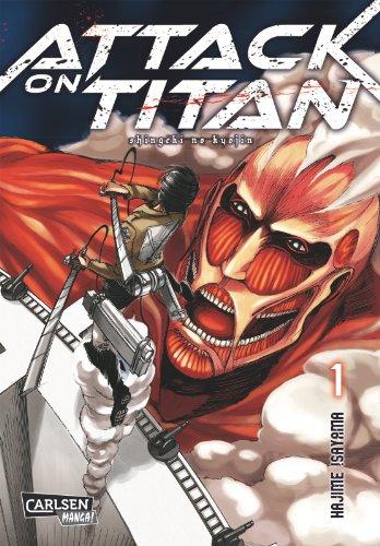 Buchseite und Rezensionen zu 'Attack on Titan, Band 1' von Hajime Isayama
