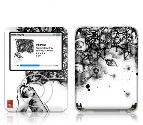 GelaSkins-Ink Pond-Film de protection pour iPod Nano 3ème génération