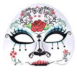 Women's Day Of The Dead Sugar Skull Mask - Maria by Robelli