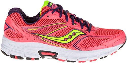Saucony Cohesion 9 W, Chaussures De Sport Pour Femme Corallo Purpura