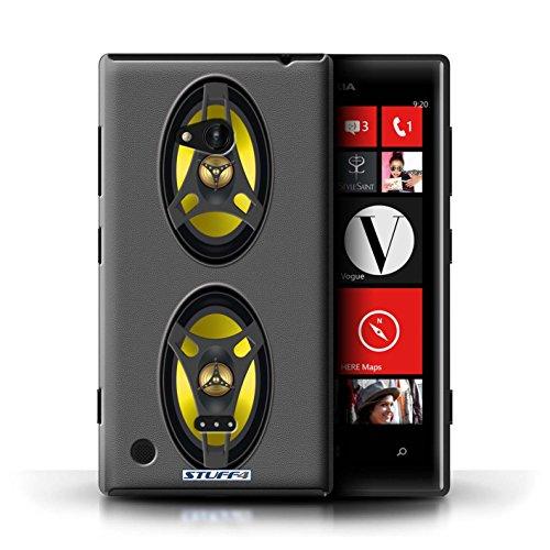 Kobalt® Imprimé Etui / Coque pour Nokia Lumia 720 / Amplificateur conception / Série Haut-Parleur dessin Autoradio