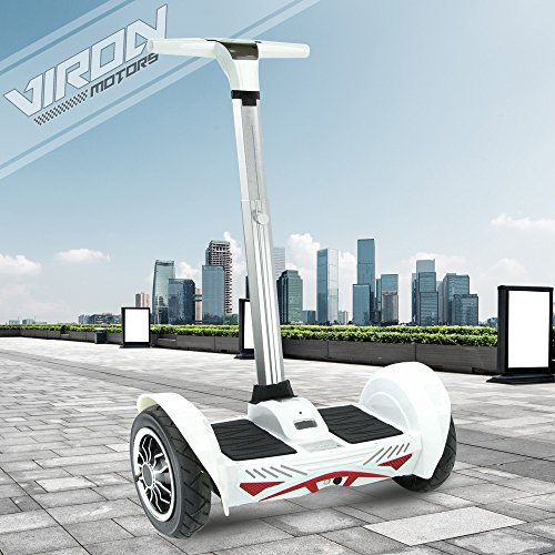 E-Balance Scooter Segwheel Elektroroller Smart Wheel Elektro E-Skateboard E-Board (weiss)