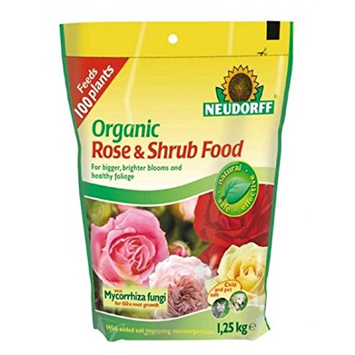 Neudorff Organic Rose & Arbuste Plante 2kg alimentaire