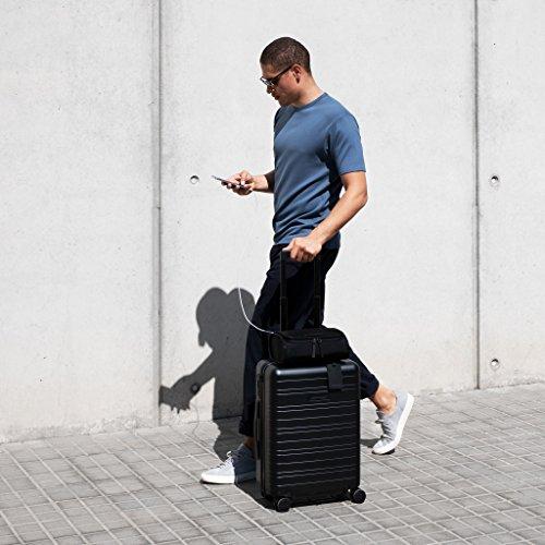 HORIZN STUDIOS H5 Handgepäck | Kabinen Trolley Koffer | Hartschale 55 cm, 35 L, mit 4 Rollen und TSA Schloss, Olivgrün (Dark Olive) - 6