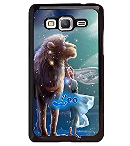 PRINTVISA Zodiac Leo Case Cover for Samsung Galaxy Core Prime