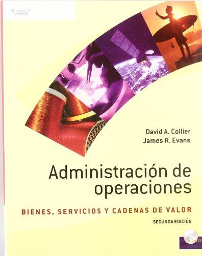 ADMINISTRACION DE OPERACIONES 2/E (CD-ROM) BIENES,SERVICIOS
