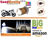 #8: Good Quality-The Name of Trust Stylish H4 Flasher Ring High Low Beam Motorcycle/Scooty Headlight LED Bulb for 2 and 4 Wheeler