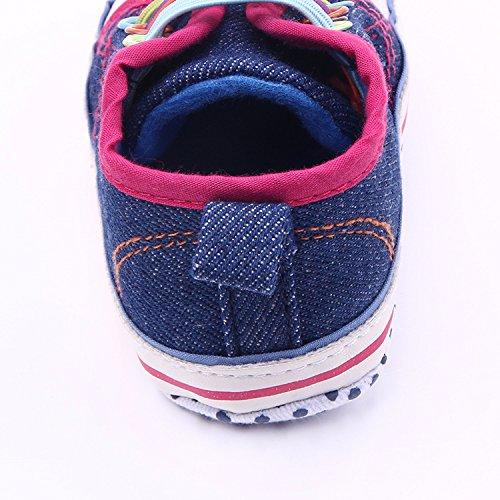 Luck Frühlings-Herbst Weiche Sohle Krippe Schuhe Sneaker Blaue