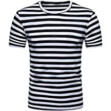 Negras Y Blancas Más Camiseta Amazon 4 Rayas Estrellas es qRwtnF7xa