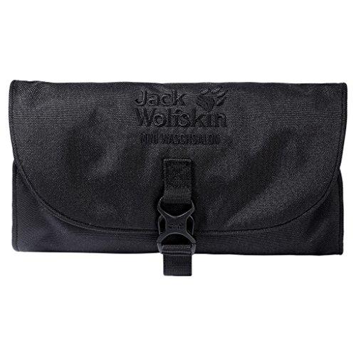 Jack Wolfskin Mini WASCHSALON, Unisex, schwarz