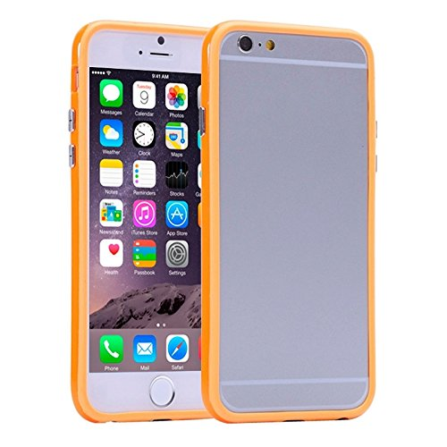 Wkae Case & Cover cadre de couleur pure plastique + tpu pare - chocs pour iphone 6 plus &6s et ( SKU : S-IP6P-0031R ) S-IP6P-0031