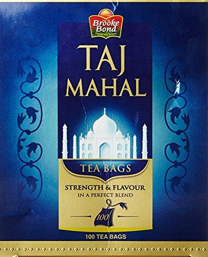 Taj Mahal Leaf Tea, 100 Tea Bags