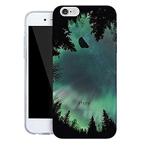 vanki® iPhone 7 hülle Sky Schutzhülle Clear Case Cover Bumper Anti-Scratch TPU Silikon Handyhülle für iPhone 7 (4,7 Zoll) (Froest sky) Froest sky