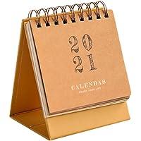 VALICLUD Mini Calendario da Tavolo 2021 Calendario Aziendale Stand up Calendario da Scrivania Scuola Aula Home Office…