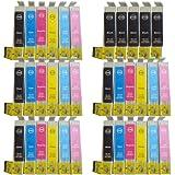 35 Colour Direct T0791 - T0796 Kompatibel Druckerpatronen Ersatz für Epson Stylus Photo 1400, 1410, 1500W A3 Drucker (NON-OEM)