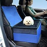 HSTYAIG Asiento de Coche para Perro, Impermeable, Transpirable, para Mascotas, Perros, Gatos, Coche, Asiento Elevador, portátil, para Viajes, para Perros pequeños
