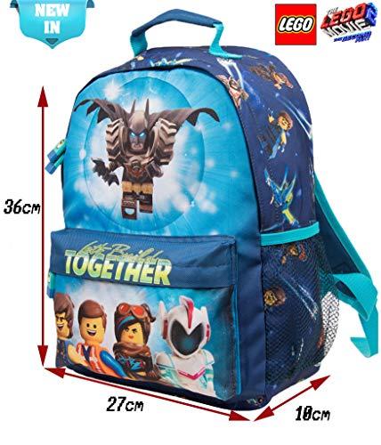 più economico 85c4b 89fbc Zaino Lego per Bambino Zainetto Elementari Lego Movie Batman
