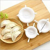 NiceButy Utensilio para masa,molde para masa para hacer empanadillas-herramienta de cocina (blanco)