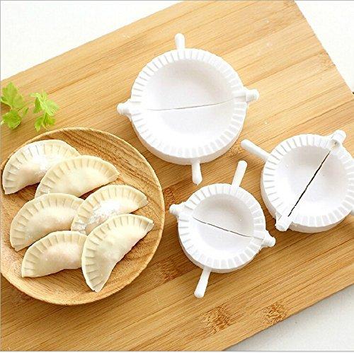 nicebuty 3pcs prensa Ravioli tarta de masa pastry Dumpling Maker Gyoza Empanada molde herramienta