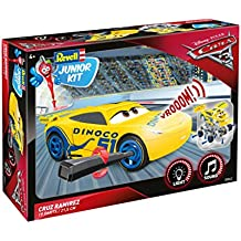 Revell RV00862 Cars 3 Cruz Ramirez Junior Kit RC, Giallo