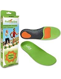 FootActive SPORT - Plantillas de alto impacto para deportes, ocio, trabajo y diversión, talla 44 - 45 (L)