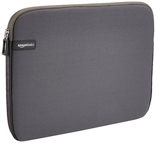 AmazonBasics 13.3-inch Laptop Sleeve (Grey)