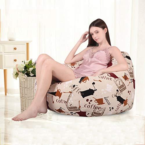 Bean Bag Chair Faule Couch Schlafzimmer Wohnzimmer Null Formaldehyd EPP Partikelfüllung (Farbe : B)