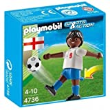 Playmobil - Joueur Football Sports & Action 4736 Angleterre