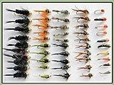 Best Pesca con mosca vuela - 50oro cabeza Pesca de la trucha vuela, Ninfa Review