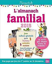 L ALMANACH FAMILIAL MEMONIAK 2015