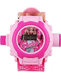 Sunny Rajwal Barbie 24 Images Projector Digital Kid's Watch (Pink)