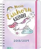 Mein Einhornkalender 2018/2019: Mit 150 Stickern! Bild