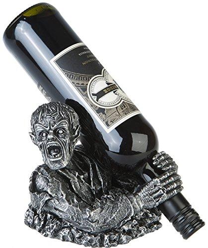 Weinflaschenhalter Zombie Dämon Gothic Halloween Wein Dekoration Deko (Zombie Halloween Dekoration Für)