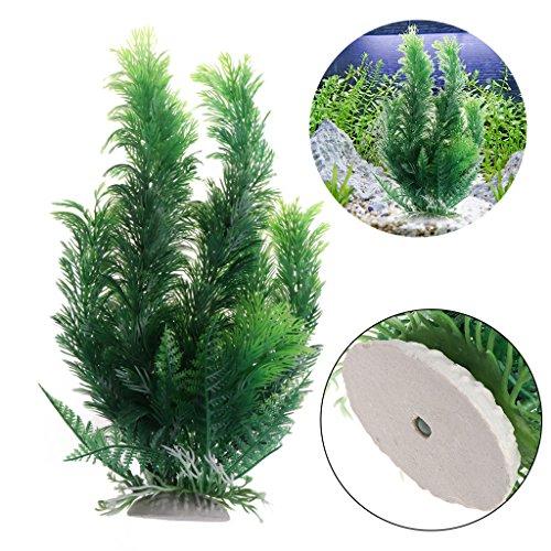 Lunji Kunstpflanze für Aquarien, groß