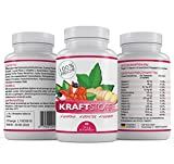 Kraftstoff - 60 Kapseln To-Go Immunbooster - Vitamin-B Komplex - Antioxidantien mit Guarana Ingwer & Grüntee + Vitamin C - Made in Germany