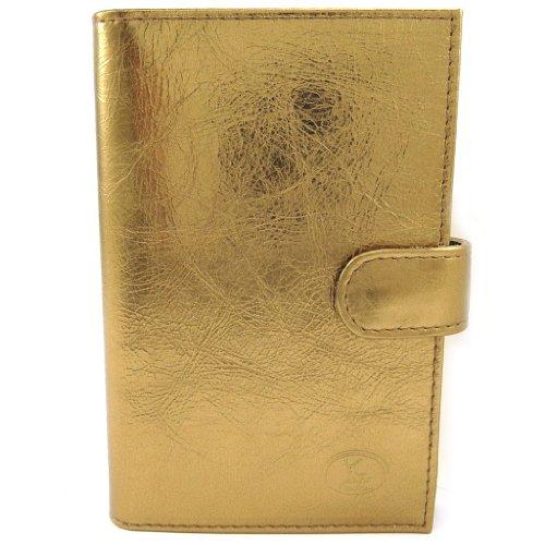Frandi [L3399] - Porte Papiers de voiture Cuir 'Frandi' bronze métal