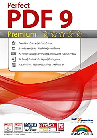 Perfect PDF 9 Premium Edition - mit OCR Modul -