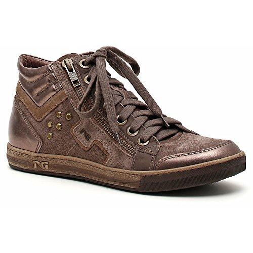 Nero Giardini Sneaker Femme Cuir / Daim A309600d Verdegris