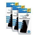ProtectPax - Flüssige Bildschirmbeschichtung aus die Höhle der Löwen - Tripple Pack 12tlg - für alle Smartphones, IPhone Samsung Nano Versiegelung - Unsichtbare Handy Folie