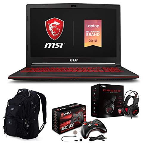 "MSI GL73 8SE 010 i7 8750H 1920x1080 - MSI GL73 8SE-010 17.3"" Gaming Laptop (Intel 8th Gen i7-8750H 6-Core, 64GB RAM, 2TB HDD + 1TB Sata SSD, 17.3"" FHD (1920x1080) Display, RTX 2060 6GB, Win 10 Home) with Gaming Bundle"