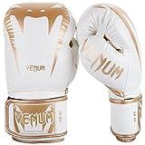 Venum Giant 3.0 Boxhandschuhe Muay Thai, Kickboxing, Weiß / Gold, 14 oz