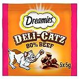 Dreamies Deli-Catz Katzen-Leckerli mit Rindfleisch 5 x 5 g