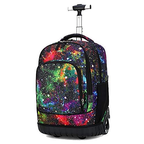 Zaino per laptop, trolley per trolley, borsa per scuola - 4 colpi-1