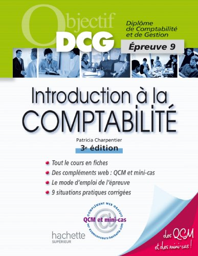 Objectif DCG - Introduction  la comptabilit