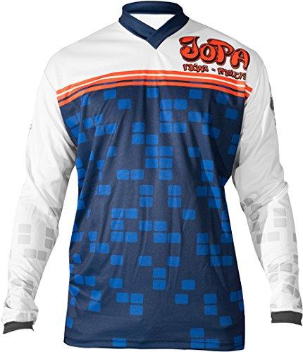 Jopa Infinity MX/BMX Jersey Blau/Orange 3XL - Infinity Jersey