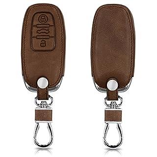 kwmobile Audi Autoschlüssel Hülle - Kunstleder Schutzhülle Schlüsselhülle Cover für Audi 3-Tasten Autoschlüssel Keyless