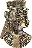 Cuadros Lifestyle Deko-Masken | 2D-Wandmaske | Venezianische Masken | Afrikanische Maske | Buddhamaske | Karneval | Wandhänger | Matt, Größe:ca. 30x40 cm