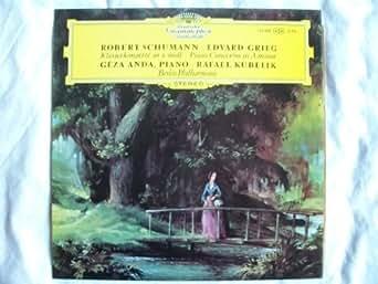 138 888 GEZA ANDA Schumann / Grieg Piano Concertos LP Kubelik